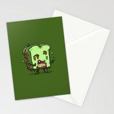 Zombie Sandwich Bot Stationery Cards