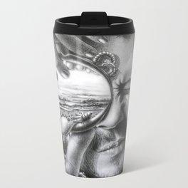 Unocular transition Metal Travel Mug