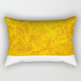 Yellw Gold Rectangular Pillow
