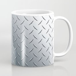 Diamond Plate Metal Pattern Coffee Mug