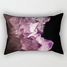 Amethyst Quartz Rectangular Pillow