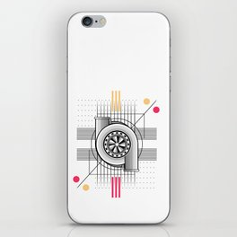 Turbo engine iPhone Skin