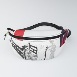 Letters Drawing Fanny Pack