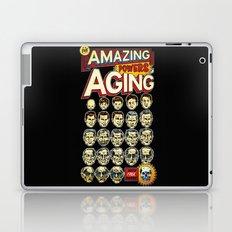 The Amazing Powers of Aging! Laptop & iPad Skin