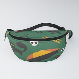 The Usual Suspects (Patterns Please) Fanny Pack