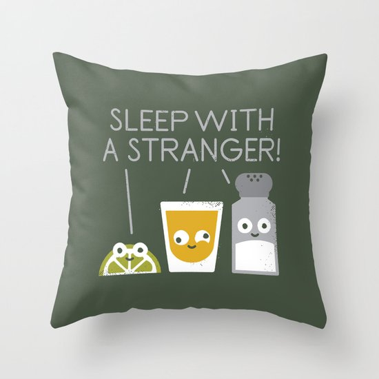 Sublimeinal Message Throw Pillow