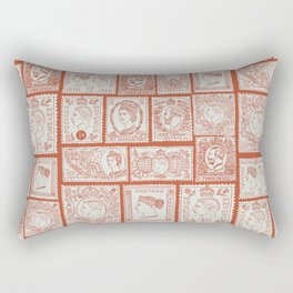 Stamp mania Rectangular Pillow