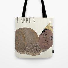 BIGGIE SNAILS Tote Bag