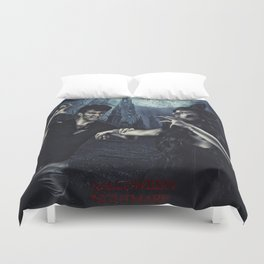 Halloween Nightmare Poster  Duvet Cover