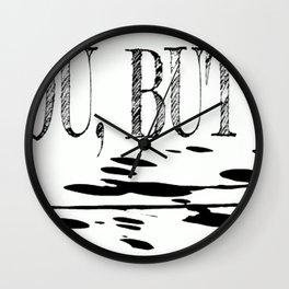 Shit Splatters Wall Clock