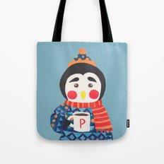 Winter Season is Coming (Penguin Edition) Tote Bag