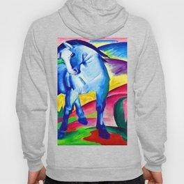 Franz Marc Blue Horse Hoody