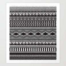 Ethnic Black Art Print