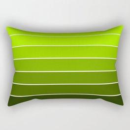 Spring Green Ombre Rectangular Pillow