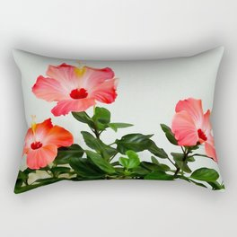 Pink Hibiscus Trio WC Rectangular Pillow