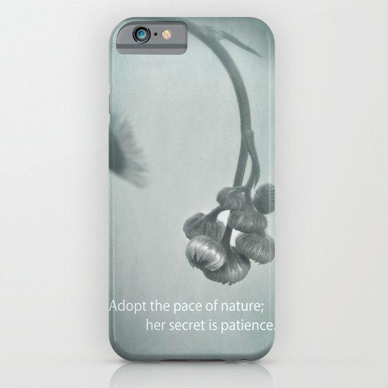 Patient Nature iPhone & iPod Case