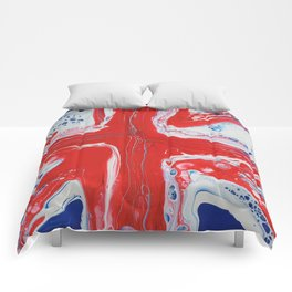Abstract Union Jack Comforters
