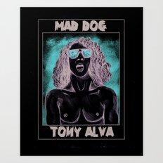 Tony Alva Art Print