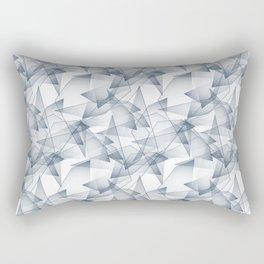 Abstract pattern.the effect of broken glass. Rectangular Pillow