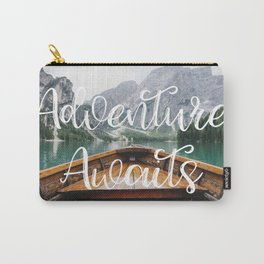 Live the Adventure - Adventure Awaits Carry-All Pouch