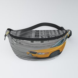 NYC - Yellow Cabs - Trinity Place Fanny Pack
