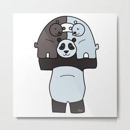 How to make a Panda Metal Print