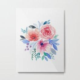 Summer Bouquet Metal Print
