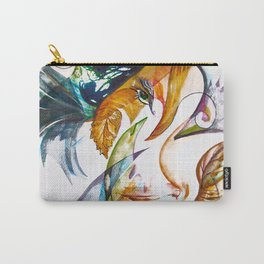 Merging Face Carry-All Pouch