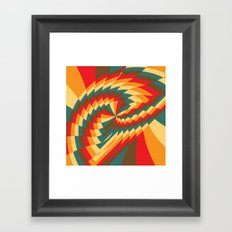 Half Circle (Available in the Society 6 Shop!) Framed Art Print