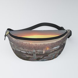 View of San Francisco Bay Area at Sunset from UC Berkeley Fanny Pack