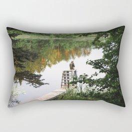 Camp Lake Rectangular Pillow
