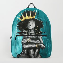 Naturally Queen IX TEAL Backpack