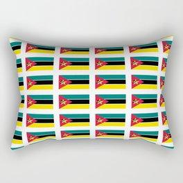 Flag Of mozambique-Mozambique,mozambican,Moçambique,moçambicano,moçambicana,Maputo Rectangular Pillow