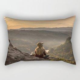 Morning on Starr Mtn Rectangular Pillow