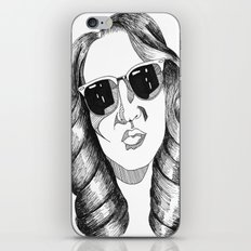 audrey gardrel iPhone & iPod Skin