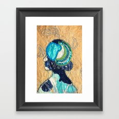 Mind Map I Framed Art Print