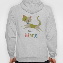 Find Your Joy Cat and Mouse Hoody