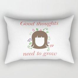 Growing Good Thoughts Rectangular Pillow