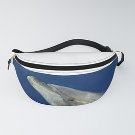 Making friends with a bottlenose dolphin Fanny Pack