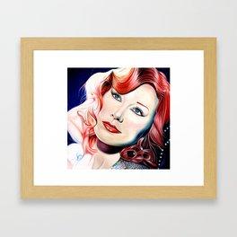 Tori Amos Painting Framed Art Print