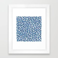 Blue Whales Framed Art Print