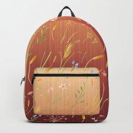 Dancing Grass in the Gentle Breeze Backpack