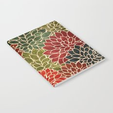 Floral Abstract 7 Notebook