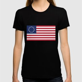 Betsy Ross flag of the USA T-shirt