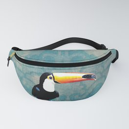 toucano tropical blue Fanny Pack