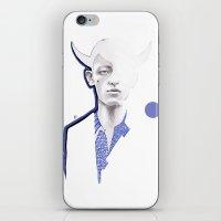 bull iPhone & iPod Skins featuring bull by Mia Mandela