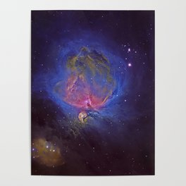The Great Orion Nebula Poster