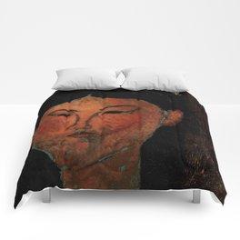"Amedeo Modigliani ""Beatrice Hastings"" (1915) Comforters"
