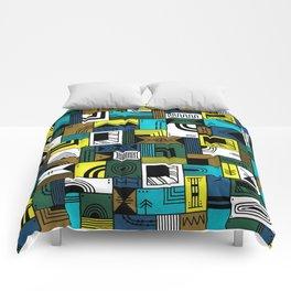 Napkin Darts Comforters