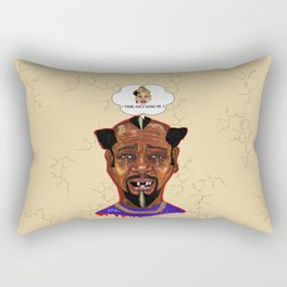 The Weakest Man On Earth Rectangular Pillow